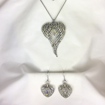 Light Within Necklace & Earrings